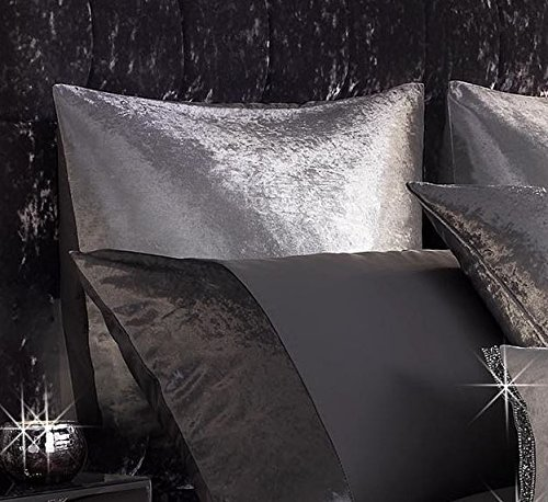 Kylie Minogue Ombre Grey Square Pillowcase